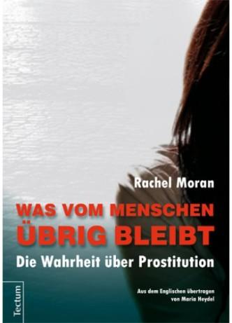 """Buchcover """"Was vom Menschen übrig bleibt"""""""