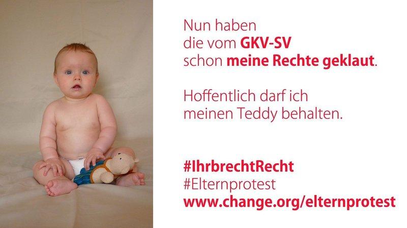 Kampagnenbild: Elternprotest bei Change.org