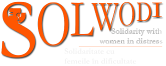 Logo SOLWODI - Solidarity with women in distress