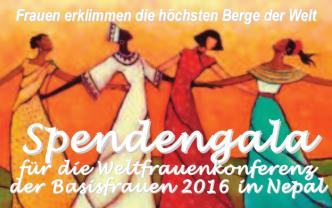 Spendengala Weltfrauenkonferenz